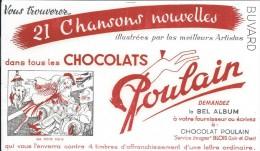 Chocolats Poulain/Chansons Nouvelles/Ma Petite Folie/BLOIS/Loir & Cher/Vers 1950       BUV255 - Cocoa & Chocolat