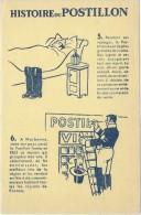Vins Du Postillon/ Histoire Du Postillon /n0 5 Et 6  /Vers 1955       BUV270 - Lebensmittel