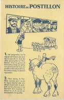 Vins Du Postillon/ Histoire Du Postillon /n° 1 Et 2   /Vers 1955       BUV271 - Lebensmittel
