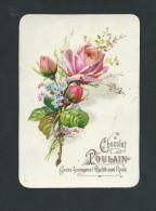 L2043 -  Chromo Gaufré Chocolat POULAIN - Bouquet De Roses - Poulain