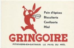 Biscottes GRINGOIRE/Pain D'épices/ PITHIVIERS/Le Pays Du Miel...//Vers 1955       BUV259 - Biscottes