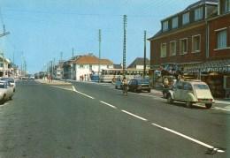 FORT-MAHON - L'Avenue De La Plage - (Autobus,Voitures Citroën 2 CV, Diane...) - - Fort Mahon