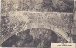 1910 BELLANO Lecco   - Vecchio Ponte Nell'Orrido - Autres Villes