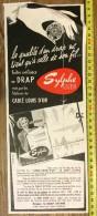 PUB PUBLICITE 1950/1960 FIL CABLE LOUIS D OR SYLPHE LEGER - Collections