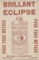 Brillant ECLIPSE/Pour Tous Métaux /Morlaix / Hamon / /Vers 1955       BUV253 - Wassen En Poetsen