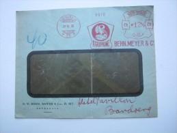 1930, SOERABAJA , Meterstempel  Auf Brief - Nederlands-Indië