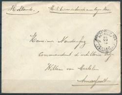 B.15. DEC.420.     POSTSTUK  VAN BELGIË   NAAR   NEDERLAND.  1915.  MILITAIR.  . - Pays-Bas