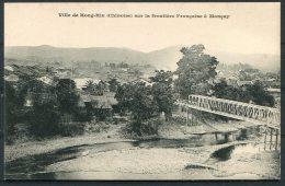 Ville De Hong-Hin Chinoise Sur La Frontiere Francaise Moncay Indo-China Postcard - China