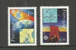 Iles Féroé N°211, 212 Neufs** Cote 7.50 Euros - Faroe Islands