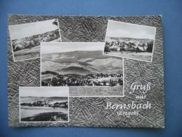 Gruß Aus Bernsbach Im Erzgebirge  - [1962] - (D-H-D-Sn45) - Bernsbach