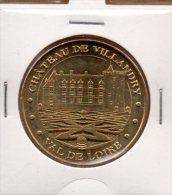 Monnaie De Paris : Château De Villandry - Val De Loire - 2011 - Monnaie De Paris