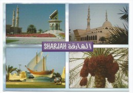 O454 Unitad Arab Emirates - UAE - Sharjah / Non Viaggiata - Emirati Arabi Uniti