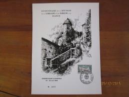 Bicentenaire De La Réunion De La Lorraine Et Du Barrois - GONDRECOURT LE CHATEAU - 25/26 Juin 1966.N° 572/1000 - FDC