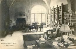 Pontigny - Abbaye - Bibliothèque - Pontigny