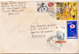 Postal History Cover: Mexico Animals, Other Topical Stamps On Cover - Unclassified