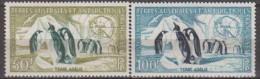 Antarctic.T.A.A.F.1956 Penquins.Michel.8-9.MH 22110 - Zonder Classificatie