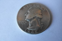 Pièce Quarter Dollar 1942 - Émissions Fédérales