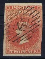 South Australia:  Mi Nr  5 , SG 7, Used  1856 - Gebruikt