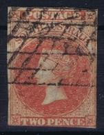 South Australia:  Mi Nr  5 , SG 7, Used  1856  Signed/ Signé/signiert - 1855-1912 South Australia