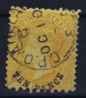 South Australia:  Mi Nr 31 , SG 79 , Used  1866 - Gebruikt