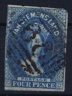 Tasmania: Van Diemensland  Mi Nr 5   Used - 1853-1912 Tasmania