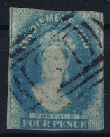 Tasmania: Van Diemensland  Mi Nr 11 A  SG 36 / 37  Used 1857 - 1853-1912 Tasmania