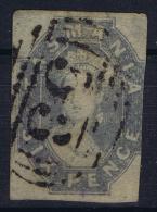 Tasmania:  Mi Nr 14 C   SG 47   Used 1860 - 1853-1912 Tasmania