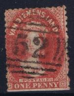 Tasmania:  Mi Nr 15 B C   SG 69 Used 1864/65 - 1853-1912 Tasmania