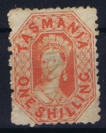 Tasmania:  Mi Nr 19 C  SG 90 Used  P 12.50 - 1853-1912 Tasmania