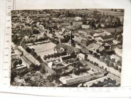 CPSM (85) Vendée - SAINT JEAN De MONTS - L'église Et La Place - Vue Aérienne - Saint Jean De Monts