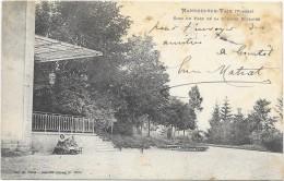 MANDRES SUR VAIR  (cpa 88)  Coin Du Parc De La Colonie Scolaire - Autres Communes