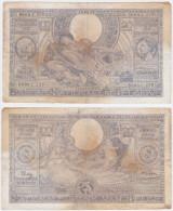 Belgium P 107 - 100 Francs = 20 Belgas 18.3.1942 - VF - [ 2] 1831-... : Regno Del Belgio