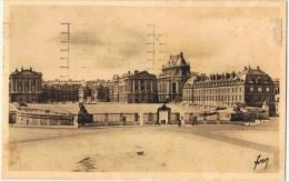 FR-L51- FRANCE N° 400 Visite Des Souverains Britanniques Sur Carte De Versailles 1938 - France