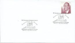 """Spanien 2002 Sonderstempel / Special Cancellation   BAENA """" 2. Internationale Kongress Gesangbuch Von Baena"""" / Song Book - Poststempel - Freistempel"""