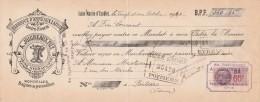 Lettre Change 21/10/1940 A JOIGNEAUX Fils Anneaux Laiton ST MARTIN D'ECUBLEI Orne Pour Poitiers - Lettres De Change