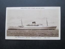 GB Kolonie Aden. Airmail / AK. Union Castle Line South And East Africa. The Union Castle Line S.S. Rhodesia Castle. - Aden (1854-1963)