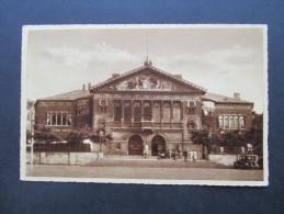 AK Dänemark 1941 Zensur Der Wehrmacht! Aarhus Teater. Randstück!! Überroller / Zensurstempel - 1913-47 (Christian X)