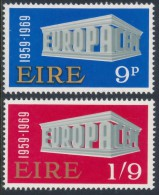 IRELAND/Irland/Eire 1969 EUROPA Set Of 2v**MNH - 1949-... Repubblica D'Irlanda