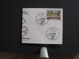 1989 Pesaro MARCHE PRODUCONO Annullo Cancellation Cancel ITALIA Italy Italien Italie - 6. 1946-.. Repubblica