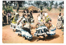 Nigeria - Acrobatic Dancers - Nice Stamp - Nigeria