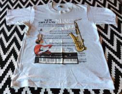 T�Shirt New Orleans. Music Jazz Rock Classical Rhythm & Blues.  neuf, non utilis�.   size  M
