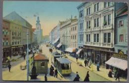 LINZ  A. DONAU  LandstraBe  About 1910y. TRAMWAY  B230 - Linz