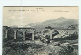 Chemin De Fer - Ligne De GAP à BRIANCON - Viaduc Et Route Du Thubaneau - TBe - 2 Scans - France