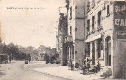 1925  Briey - Rue De La Gare - Café Du Chemin De Fer - - Briey