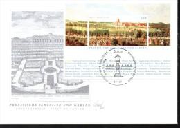 ALLEMAGNE  FDC   2005  750 Ans De Berlin  Monuments  Chateaux  Jardin - Monuments