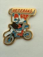 Pin´s MOTOCROSS - VETERANS 92 - Motorbikes