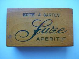 - BOITE A JEU DE CARTES - SUZE Apéritif - - Unclassified