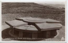 CPSM 34 LAMALOU LES BAINS CROIX DE GUERRE DANS LA FORET DES ECRIVAINS  1938 - Lamalou Les Bains