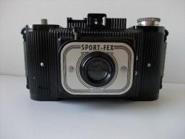 - Appareil Photo SPORT FEX Avec Son étui En Cuir - - Cameras