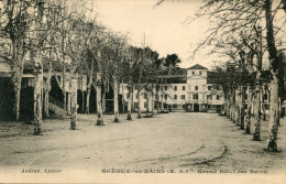 GREOUX LES BAINS(ALPES DE HAUTE PROVENCE) GRAND HOTEL DES BAINS - Gréoux-les-Bains